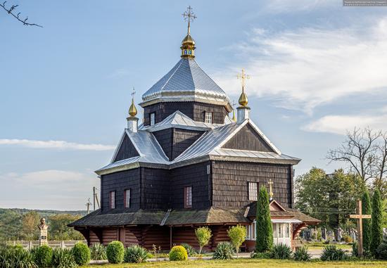 Church of the Exaltation of the Holy Cross in Mykytyntsi, Ivano-Frankivsk Oblast, Ukraine, photo 2