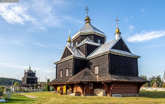 Church of the Exaltation of the Holy Cross in Mykytyntsi, Ivano-Frankivsk Oblast, Ukraine, photo 5