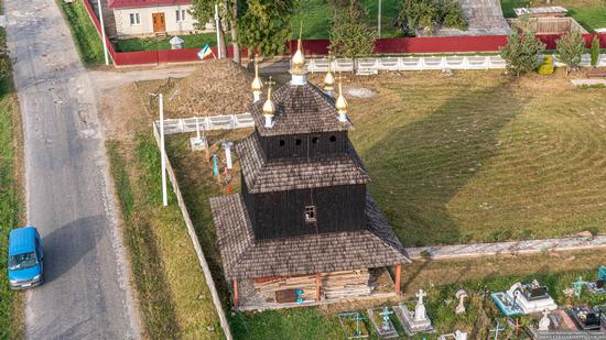 Church of the Exaltation of the Holy Cross in Mykytyntsi, Ivano-Frankivsk Oblast, Ukraine, photo 7