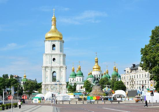 Kyiv - post-pandemic travel to Ukraine