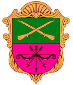 Zaporozhye city coat of arms