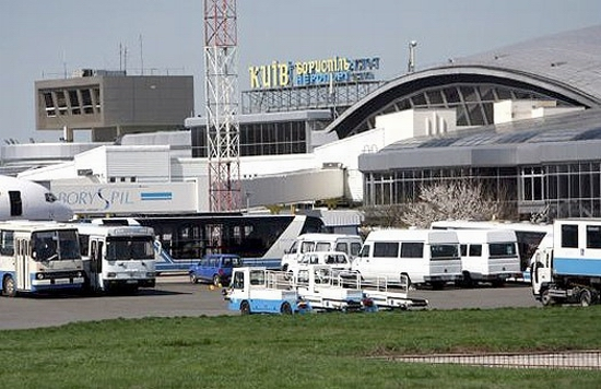 Borispol airport, Ukraine view 2