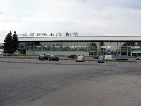 Dnepropetrovsk International Airport, Ukraine