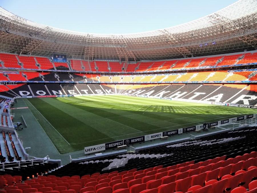 Donbass Arena - Donetsk stadium, Ukraine