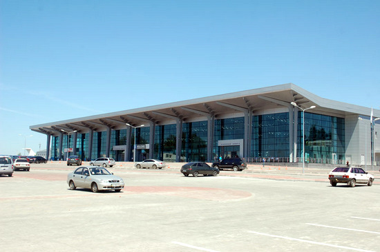 Kharkov airport, Ukraine view