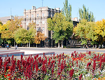 Alchevsk is a green city