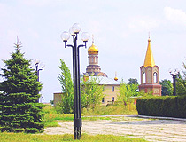 Bakhmut city church
