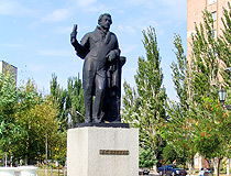 Monument to A.S. Pushkin in Berdyansk