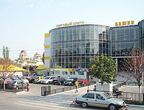 Shopping center in Berdyansk