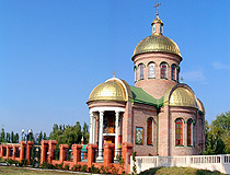 Church of St. Panteleimon the Healer at the base of the Berdyansk spit