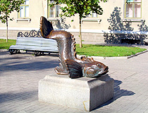Berdyansk fish monument