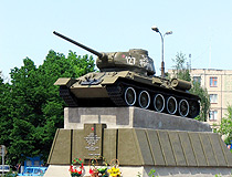 Tank T-34 monument