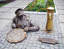 Monument to the Plumber in Cherkasy