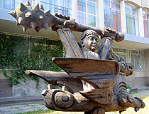 Cherkasy outdoor sculpture