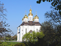 St. Catherine's Church in Chernihiv