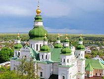 Trinity Cathedral in Chernihiv