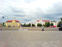 Central square of Chernihiv