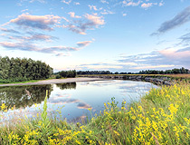 Small river in the Chernihiv region