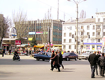 In the center of Kamianske