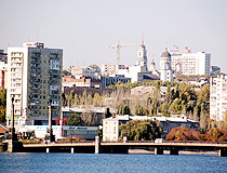 Donetsk city view