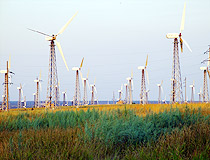 Wind turbines in Ukraine