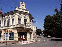 Drohobych city architecture