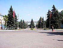 In the center of Enakievo