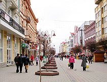 In the center of Ivano-Frankivsk