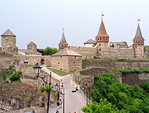 Magnificent fortress of Kamianets-Podilskyi