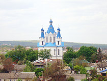 Kamenets Podolskiy city church
