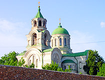 Church of the Intercession of the Holy Virgin in Kachkarivka, Kherson Oblast