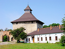 Old castle in the Khmelnytskyi region
