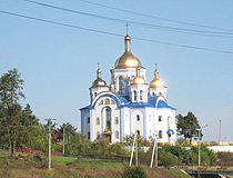 Orthodox church in Khmelnytskyi Oblast
