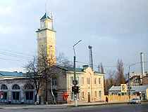 Fire station in Kremenchuk
