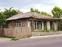Lisichansk old wooden house