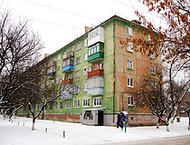 Lisichansk apartment building