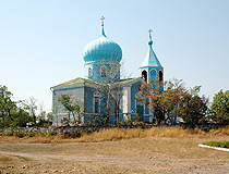 Lugansk region church