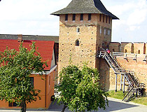 Medieval castle in Lutsk