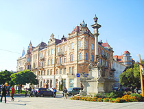 Beautiful architecture of Lviv