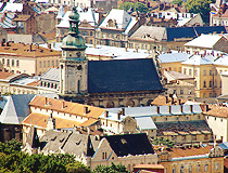 Picturesque roofs of Lviv