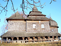 Lviv region wooden church