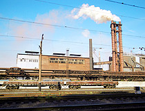 Mariupol - a city with heavy industry