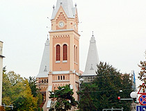 Catholic Cathedral of St. Martin in Mukachevo