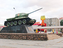 T-34 tank monument