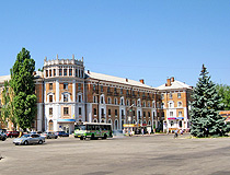 On the central square of Nikopol