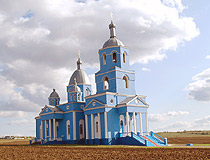 Beautiful church in Odessa Oblast