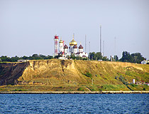 Picturesque landscape in the Odessa Region