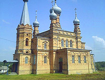 Church of the Epiphany of the Lord in Oboznivka in the Poltava region