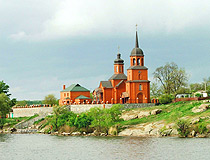 Transfiguration Church in Keleberda in Poltava Oblast