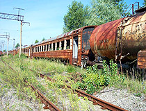 Pripyat radioactive train